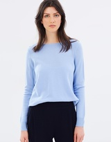 SABA Claudia Split Hem Knit