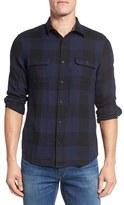 Nordstrom Men's Trim Fit Buffalo Plaid Flannel Shirt Jacket