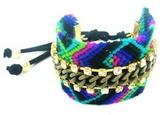 Michelle Roy Chain Friendship Bracelet in Gold