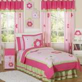Sweet Jojo Designs Flower Bedding Collection in Pink/Green