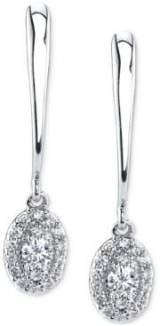 Sirena Diamond Drop Earrings (1/4 ct. t.w.) in 14k White Gold