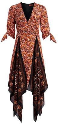 Altuzarra Elvira Floral Silk Dress