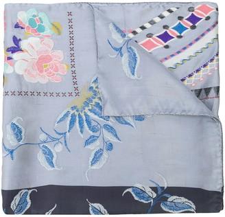 Etro Ornate Floral-Print Scarf