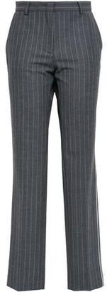 Piazza Sempione Pinstriped Twill Straight-leg Pants