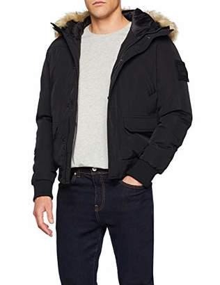 Redskins Men's DUGG Paramount Jacket, (Black), Sizes: Medium