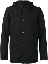 Aspesi hooded rain jacket - men - Cotton/Polyester - L