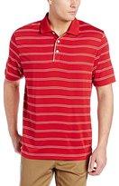 Cutter & Buck Men's CB Drytec Hawthorne-Stripe Polo Shirt