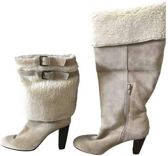 Surface to Air Beige Suede Boots