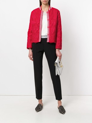 Ermanno Ermanno Cropped Lace Jacket