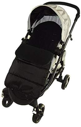 Footmuff/Cosy Toes Compatible with Venicci Travel Pushchair Black Jack