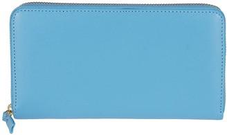 Comme des Garcons Light Blue Leather Wallet