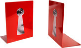 "Fornasetti Serratura"" Bookends"