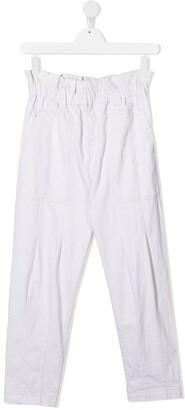 DKNY Elasticated-Waistband Trousers