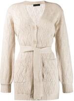 Etro Belted Wool Coat
