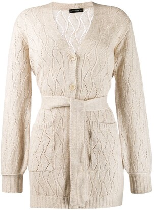 Etro Belted Wool Coat