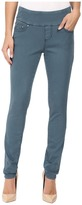 Jag Jeans Nora Pull-On Skinny Freedom Colored Knit Denim in Opal