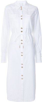 Acler Culiford midi shirt dress