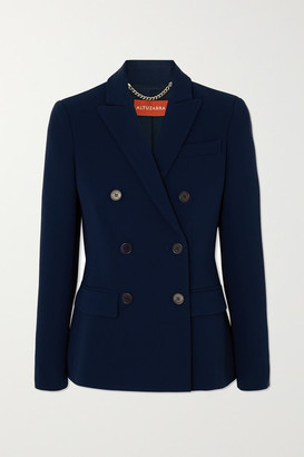 Altuzarra Indiana Double-breasted Cady Blazer - Navy
