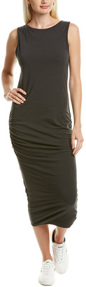 James Perse Ruched Sheath Dress