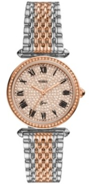Fossil Women's Lyric Two-Tone Bracelet Watch 32mm, Limited Edition