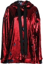 Marques Almeida Sequinned Oversized-Fit Hoodie
