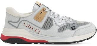 Gucci ULTRAPACE GLITTERED MESH SNEAKERS