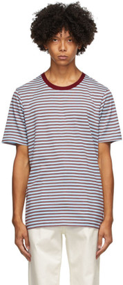 Marni Three-Pack Multicolor Striped T-Shirts