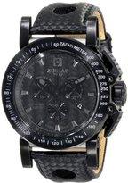 Zodiac ZMX Men's ZO8567 Racer Analog DisplaySwiss Quartz Black Watch