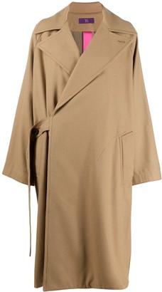 Y's Side-Tie Coat