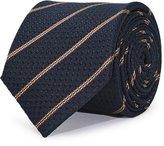 Reiss Weston - Silk Striped Tie in Blue, Mens