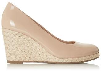 WF Annabels Wide Fit Wedge Heel Espadrille Shoes