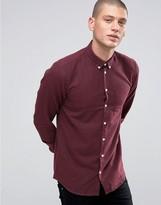 Minimum Pelham Slim Flannel Shirt Buttondown In Slim Fit