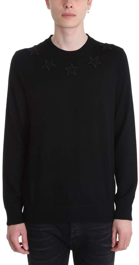 Givenchy Black Wool Knit