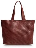 Robert Zur Leather Tote Bag - Brown