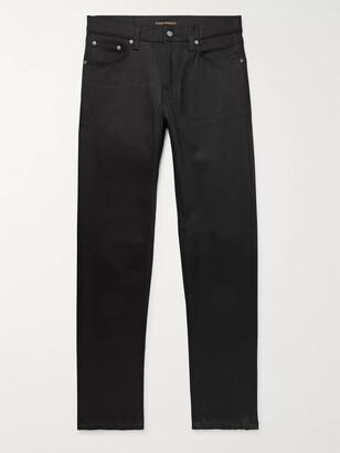 Nudie Jeans Steady Eddie Ii Slim-Fit Tapered Organic Stretch-Denim Jeans