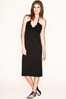 Farron Elizabeth Jasmine 3/4 Halter Dress in Black
