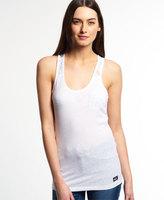 Superdry Super Sewn Lace Vest Top