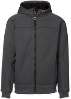 ID Mens Sherpa Lined Full Zip Hooded Jacket/Hoodie (M)