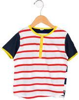 Stella McCartney Boys' Striped Colorblock Shirt