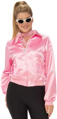Rubie's Costume Co Grease 50's Pink Ladies Plus Size Jacket Plus Size