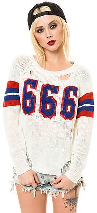 UNIF The Varsix Sweater