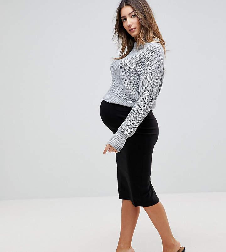 Asos Design Maternity High Waisted Pencil Skirt