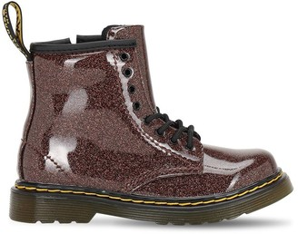 Dr. Martens Glittered Faux Leather Boots
