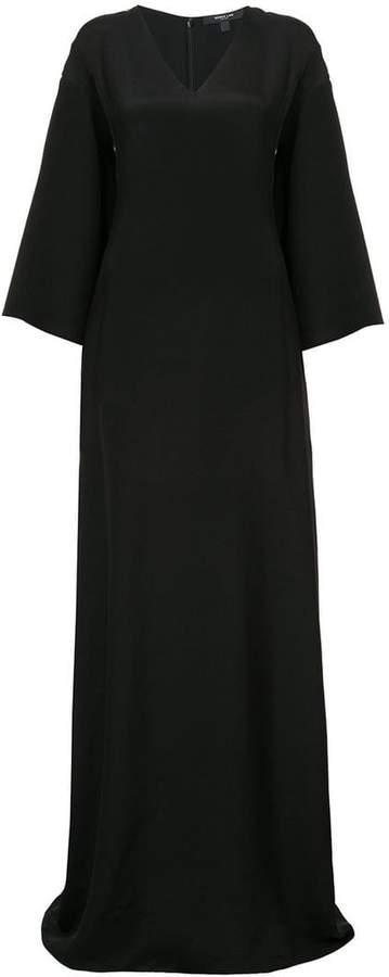 Derek Lam Full Sleeve V-Neck Gown