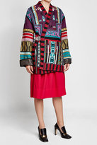 Etro Printed Cardigan with Wool, Cashmere and Silk