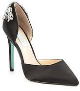 Betsey Johnson Blue by Rosie Jeweled Dress Pumps