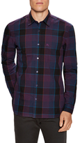 Burberry Plaid Button Up Sportshirt