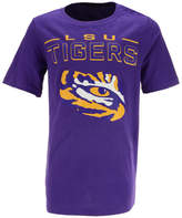 Outerstuff Lsu Tigers Straight Pass T-Shirt, Big Boys (8-20)
