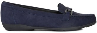 Geox Annytah Breathable Suede Loafers