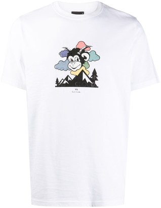 Paul Smith Head In The Clouds t-shirt